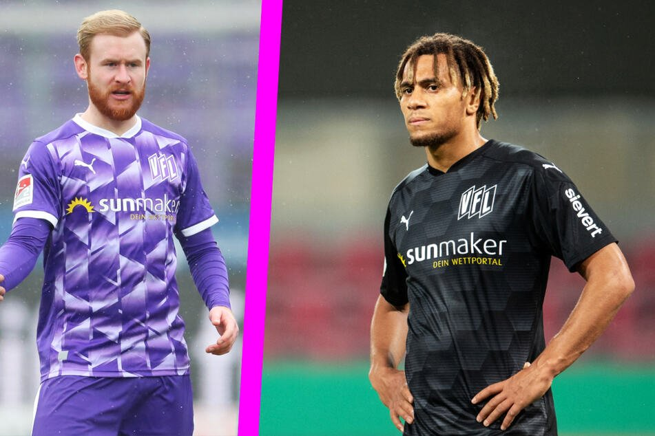 Sebastian Kirk (27, left) and Etienne Amenedo (23) left VFL Osnabrück, but at least brought a transfer fee to their club.
