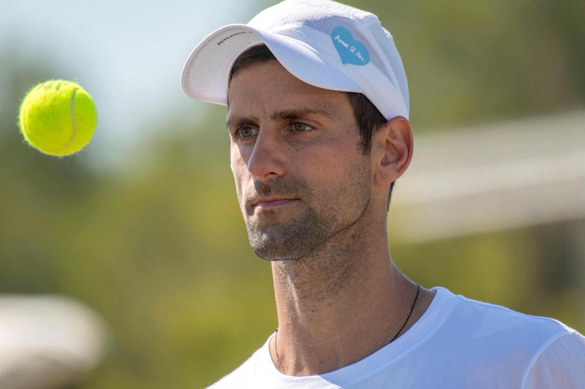 A man with goals: Novak Djokovic had not only tennis, but politics as well.