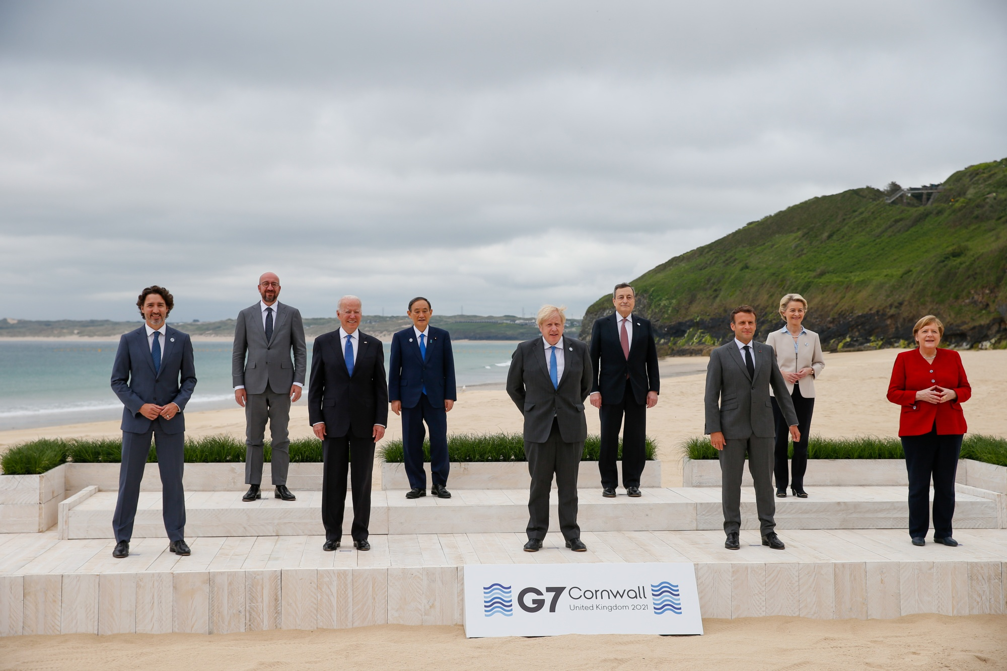 The first day of the G7 Summit of Heads of State or Government