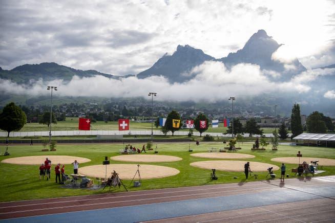 View of Schwingplatz in Ibach.