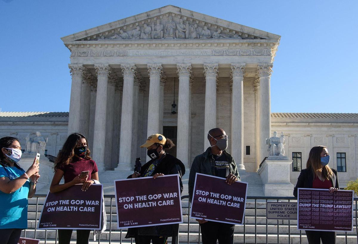 Obamacare before the Supreme Court: Judges approved former President Barack Obama's health reform by seven votes to two.