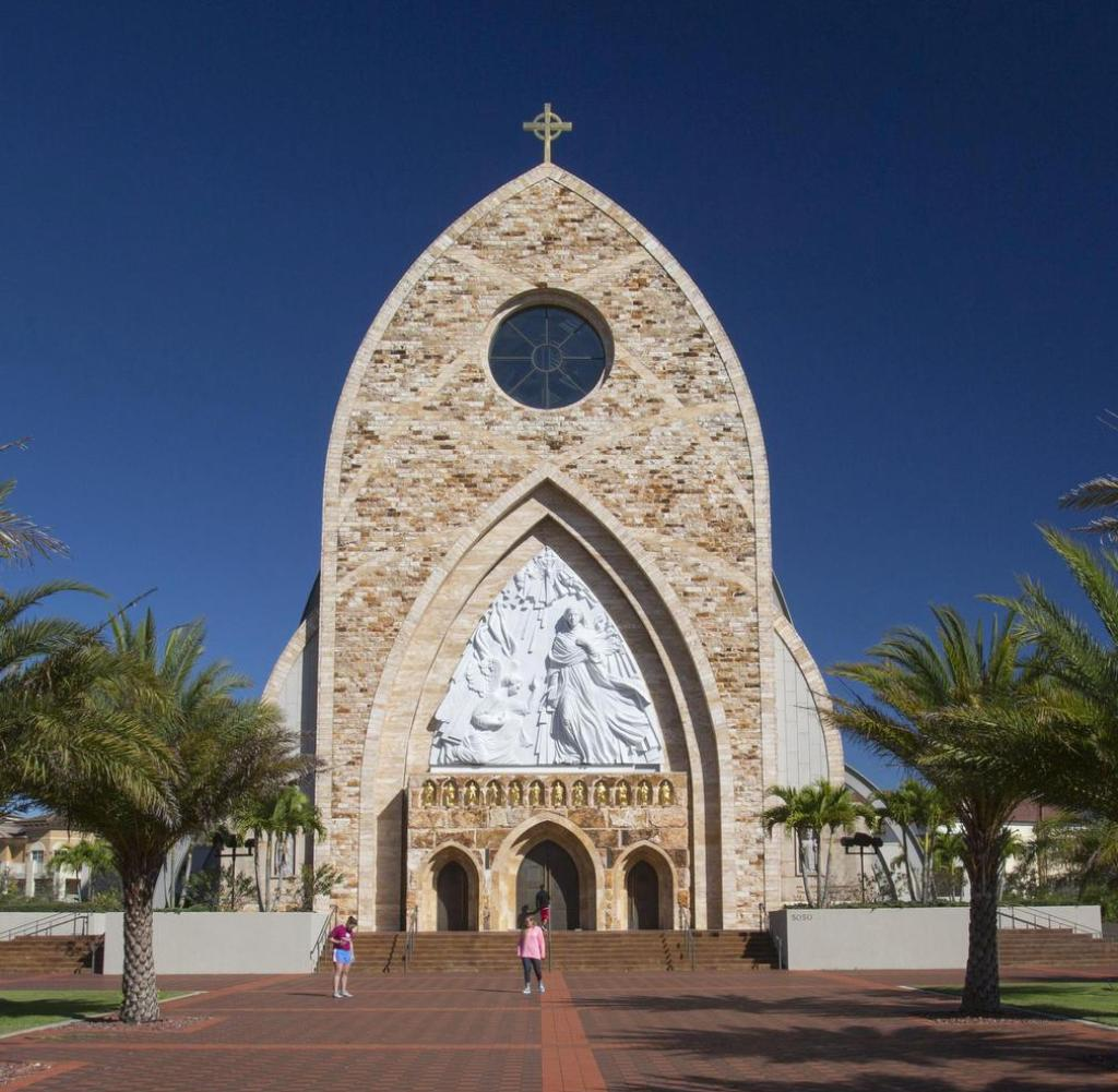 Florida, USA: The main center of the city is the Cathedral of Ave Maria