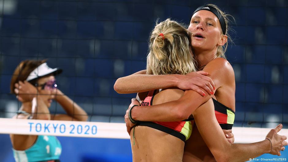 Olympia 2020 Tokyo |  Beach volleyball Laura Ludwig and Margareta Kozuch