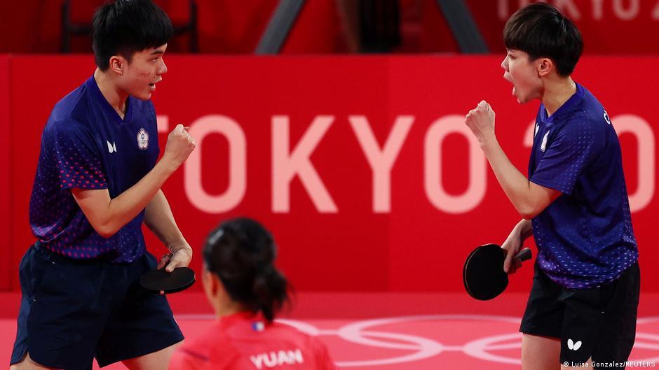 Olympia 2020 Tokyo |  Table tennis Cheng I-Ching and Lin Yun-Ju