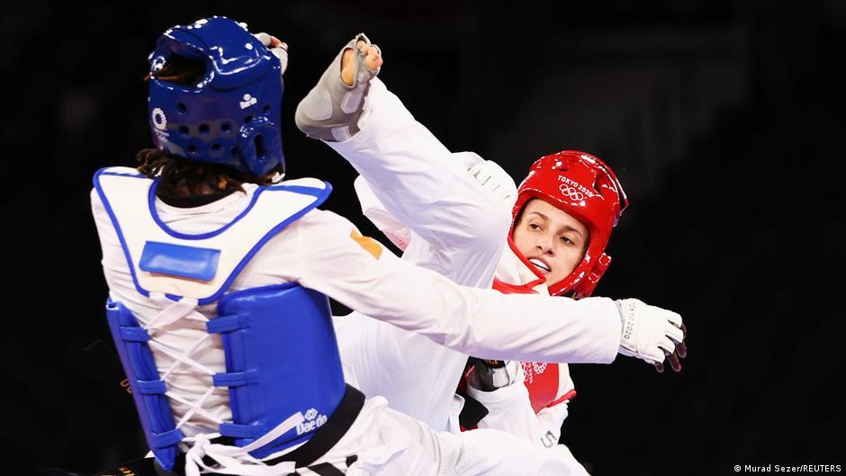 Olympia 2020 Tokyo |  Taekwondo Melina Titonelli Guimarães vs. Ruth Gbagby