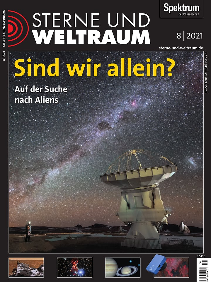 Cover of Stars and Space Book 8/2021