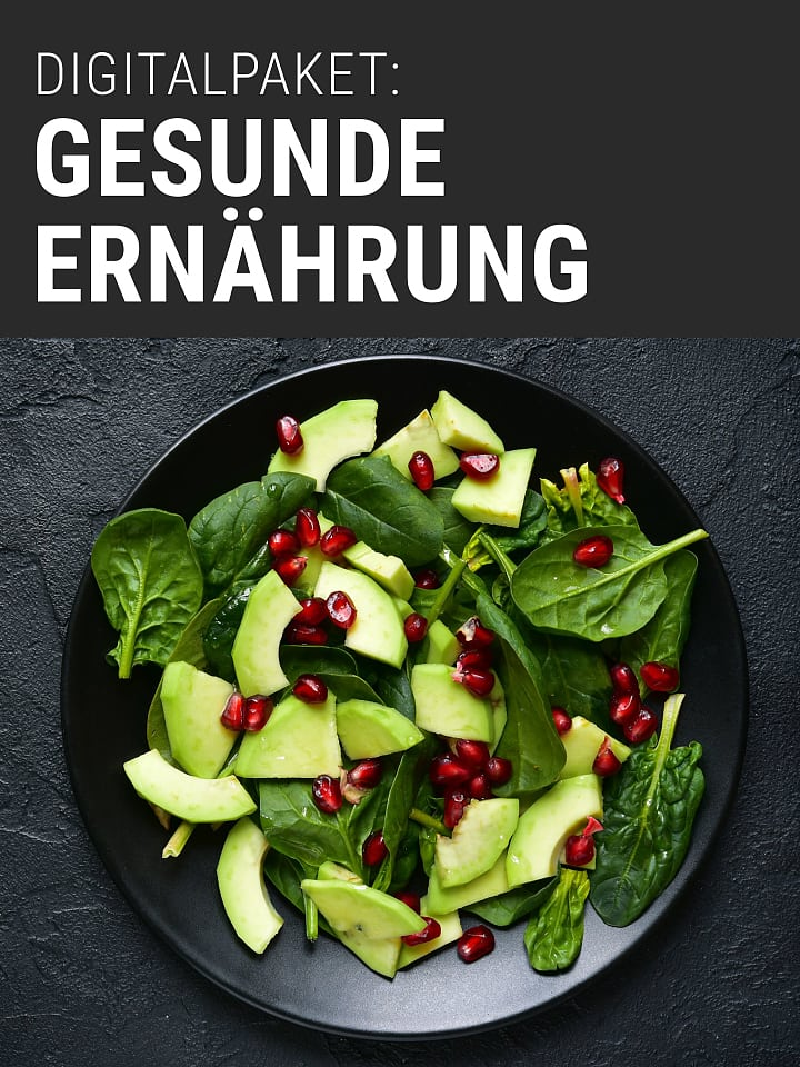 Heftcover Spektrum.de digital package: healthy nutrition
