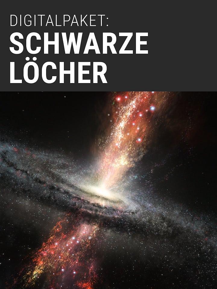 Heftcover Spektrum.de Digital Package: Black Holes