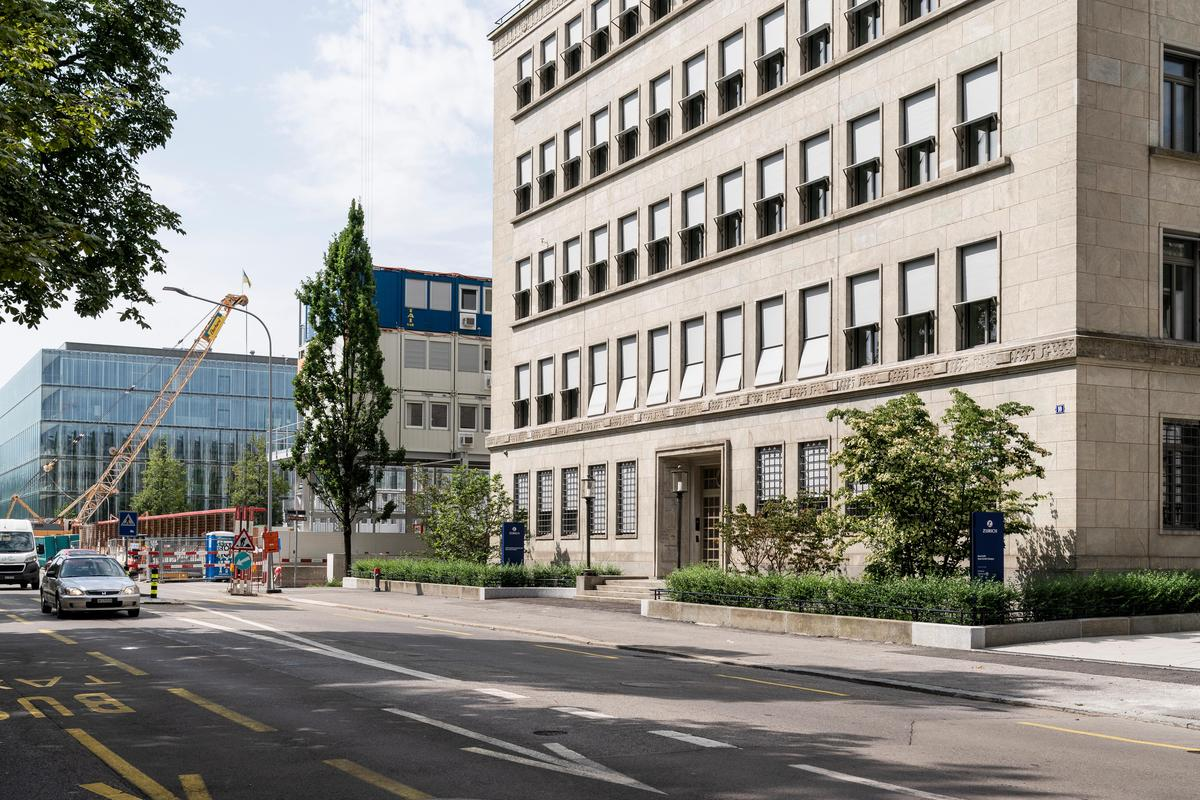 This is where AWS is moving into its new headquarters: ownership at Mythenquai 10 in Zurich.