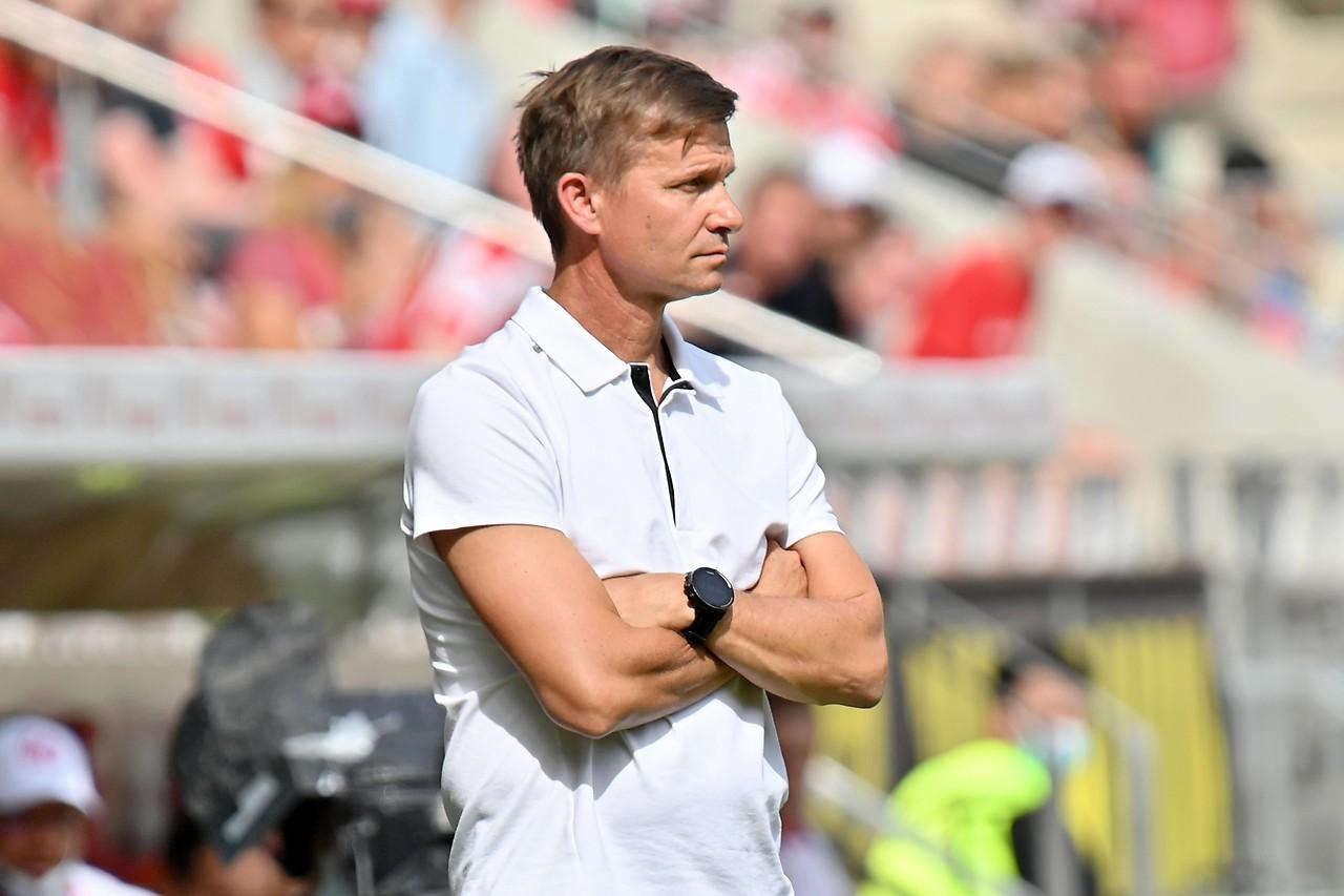 Leipzig coach Jesse Marsh