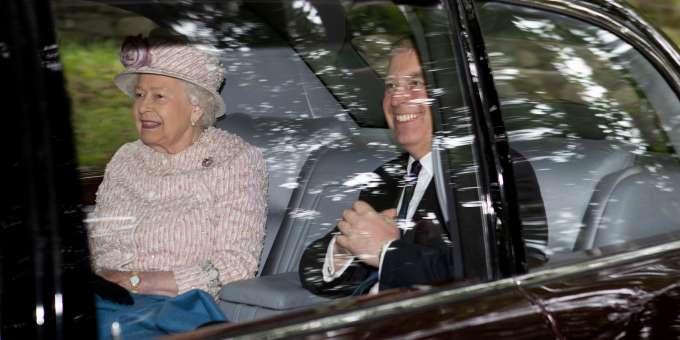 Prinz Andrew Queen Elizabeth