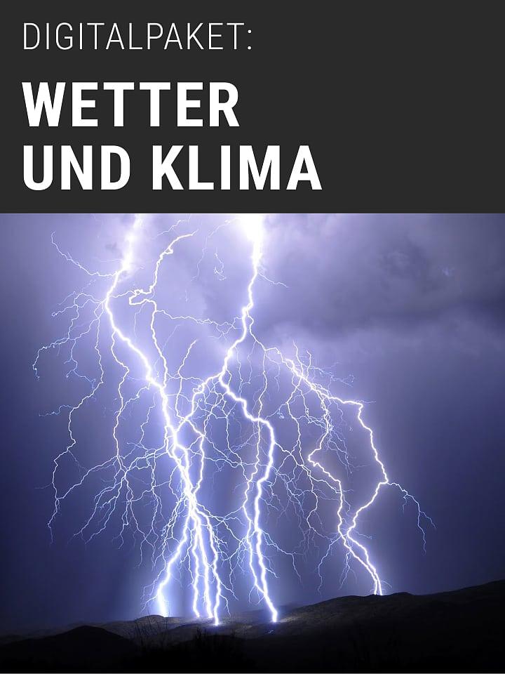 Heftcover Spektrum.de digital package: weather and climate