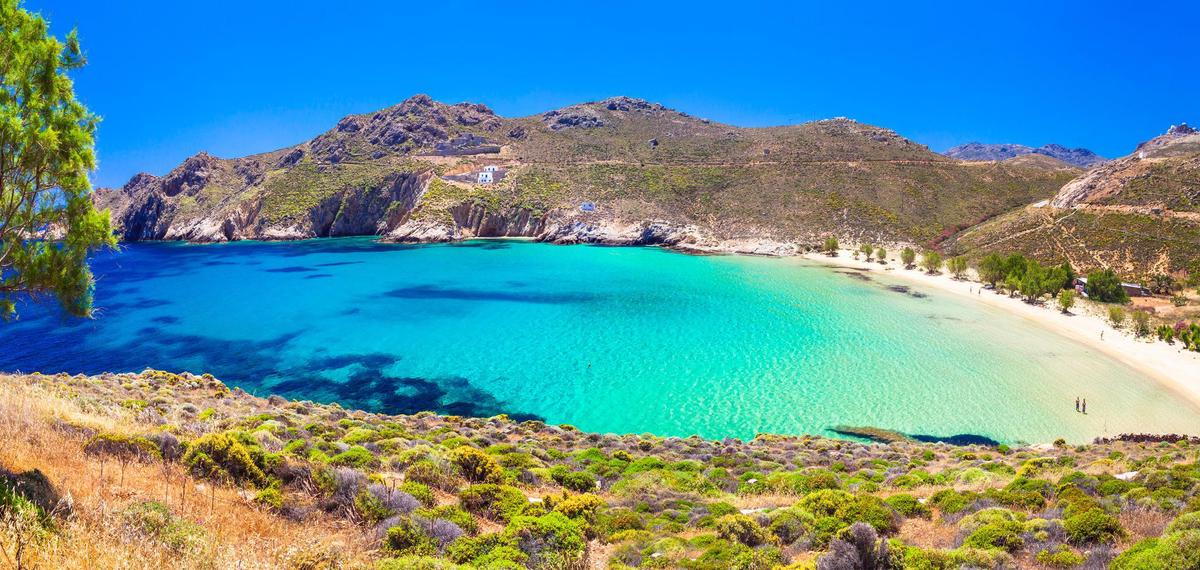Sharp beauty with great beaches: Serifos.