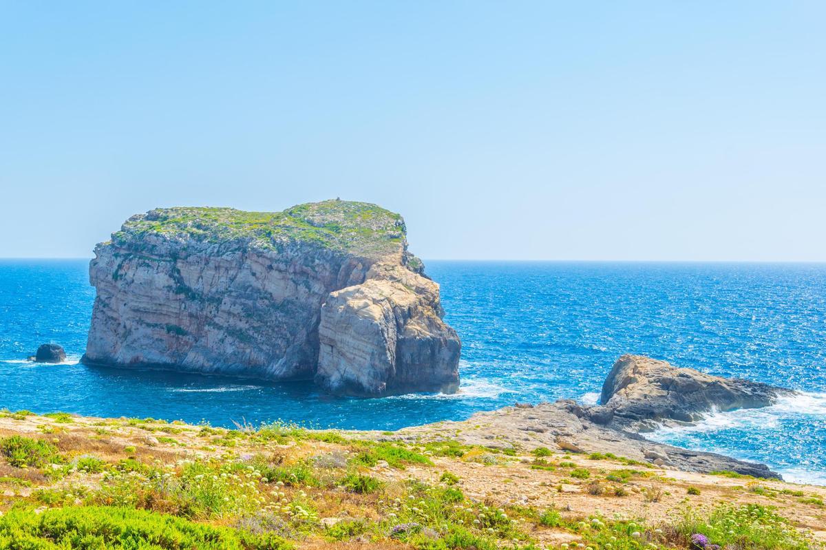 Highlights of Gozo: Mushroom Rock.