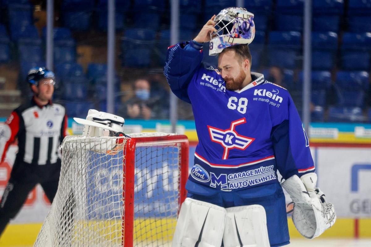 Today Kloten's goalkeeper, Johann Lundskog's No. 1 goalkeeper in the 2013/14 season in the junior team of the Canadian province of Ontario: Dominique Neveller of Zurich.