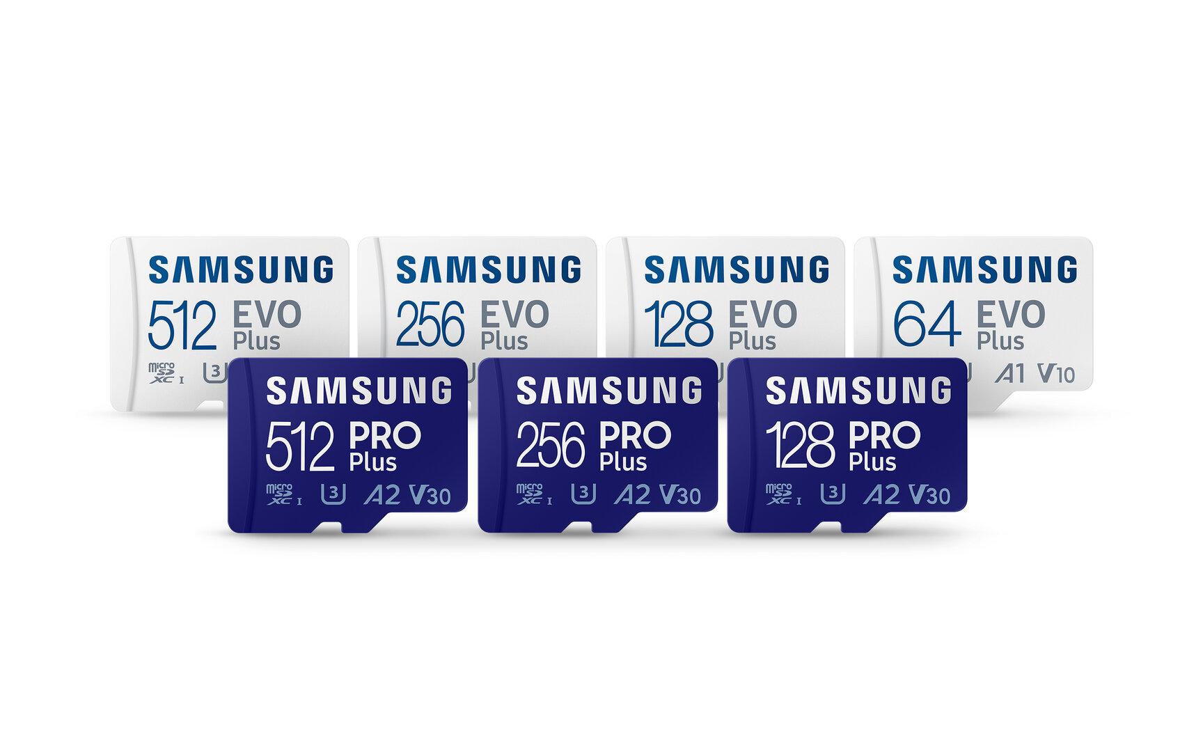 Samsung's new microSD cards