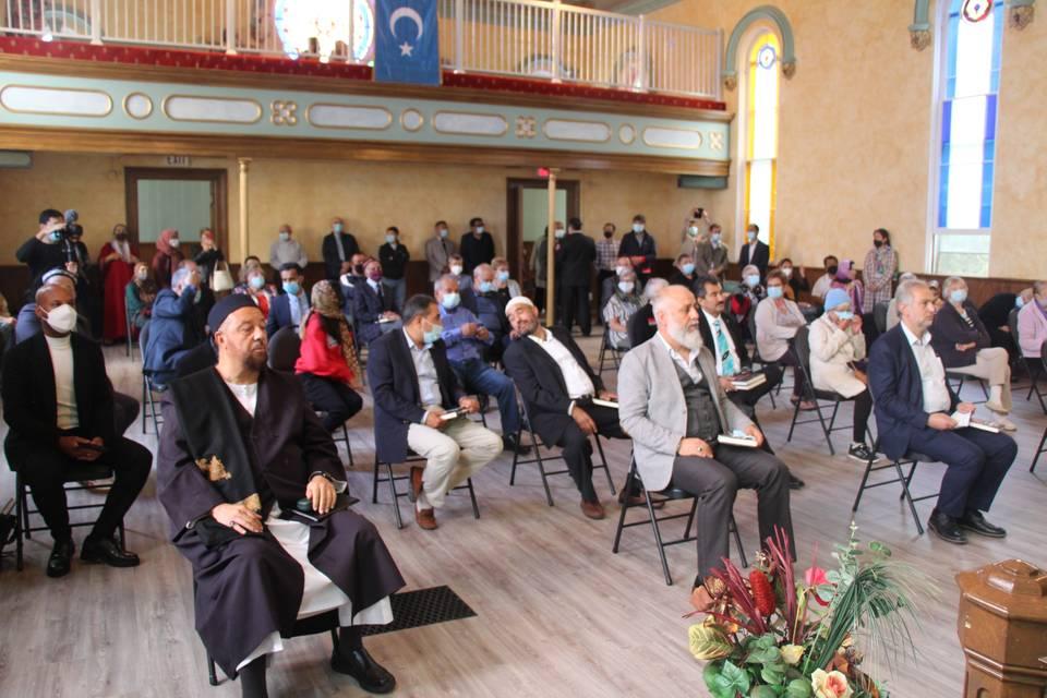 Canada: Uyghur mosque in empty church