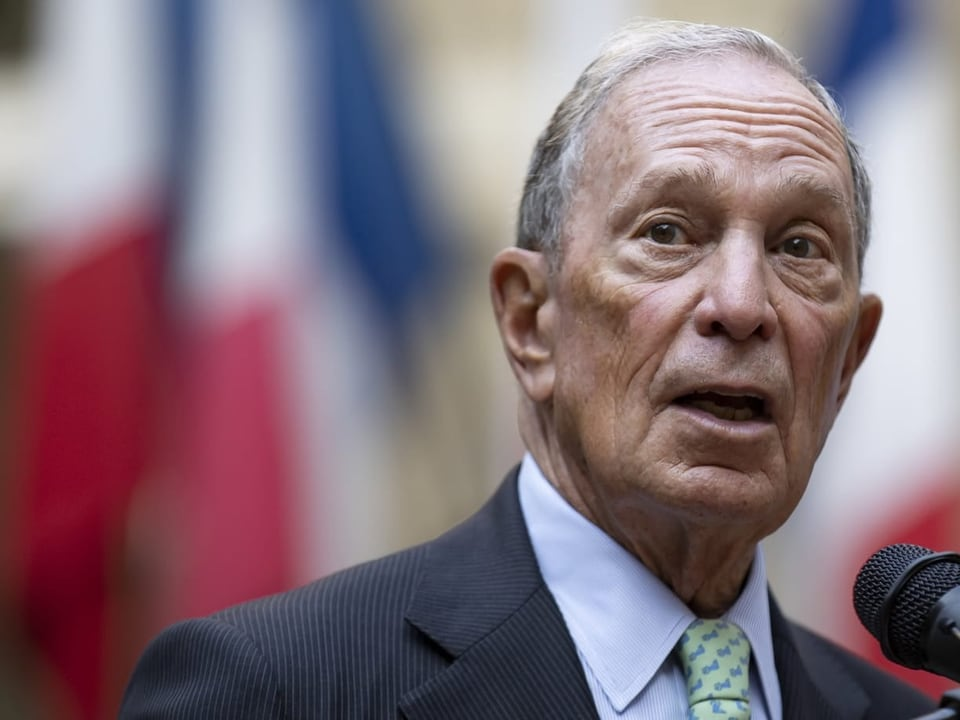 10th place: Michael Bloomberg