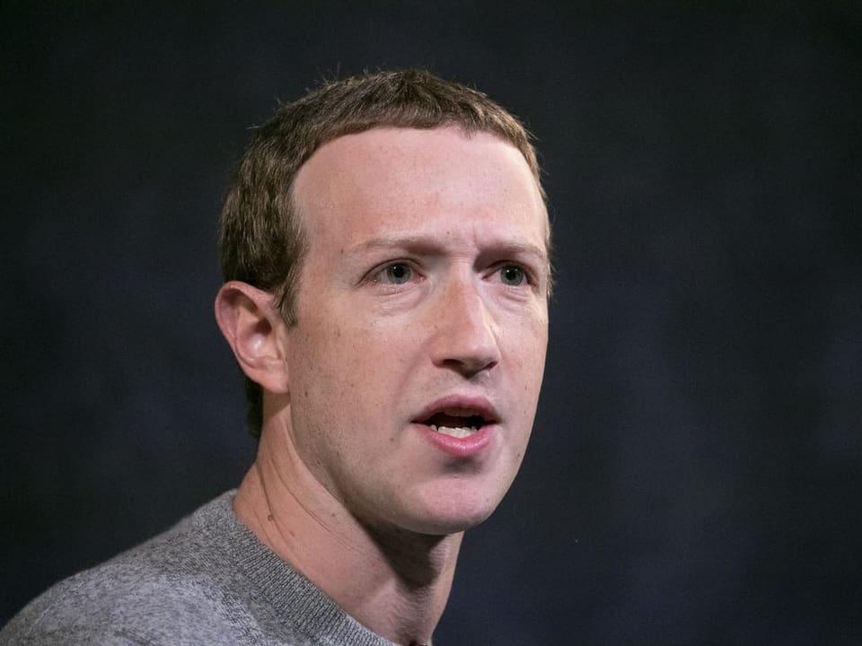 Third place: Mark Zuckerberg